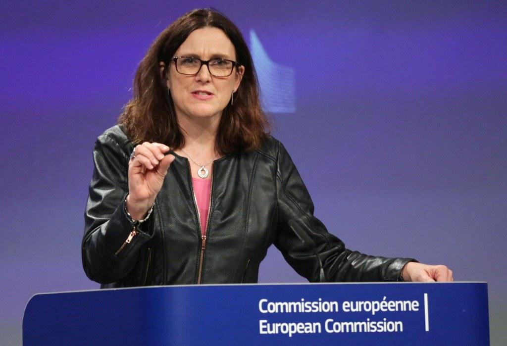 Image: EU trade commissioner Cecilia Malmstrom