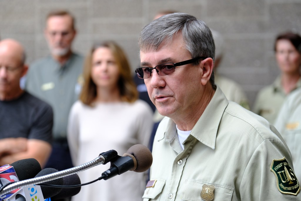 Image: U.S. Forest Service Chief Tony Tooke