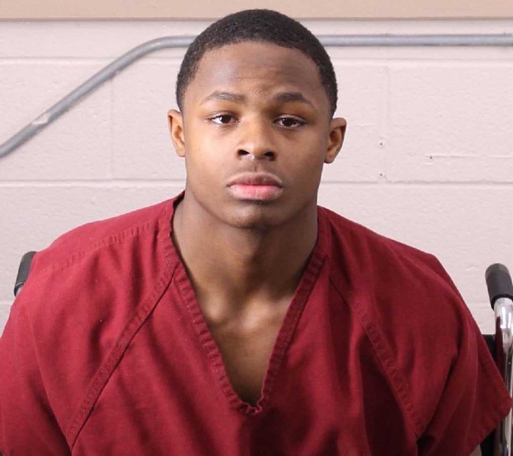 Image: Michael Jerome Barber, who is  charged with manslaughter for the shooting at Huffman High School in Birmingham, Alabama.