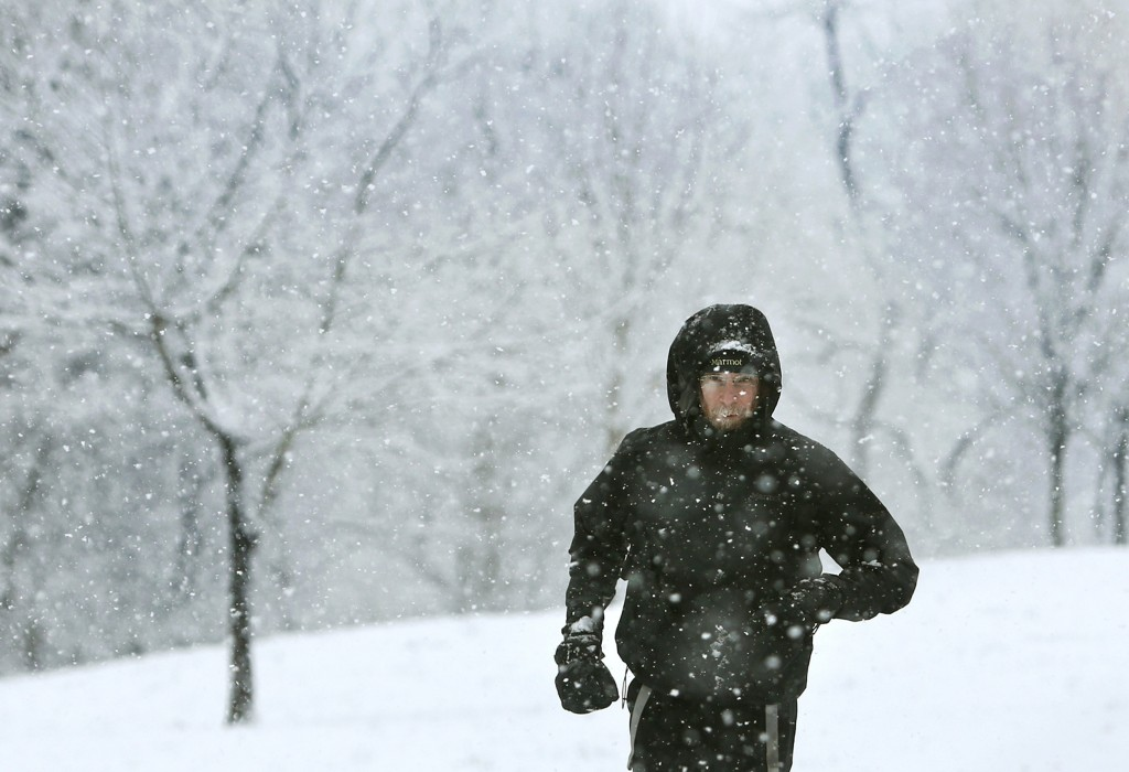 Image: Snow in Roanoke, Virginia