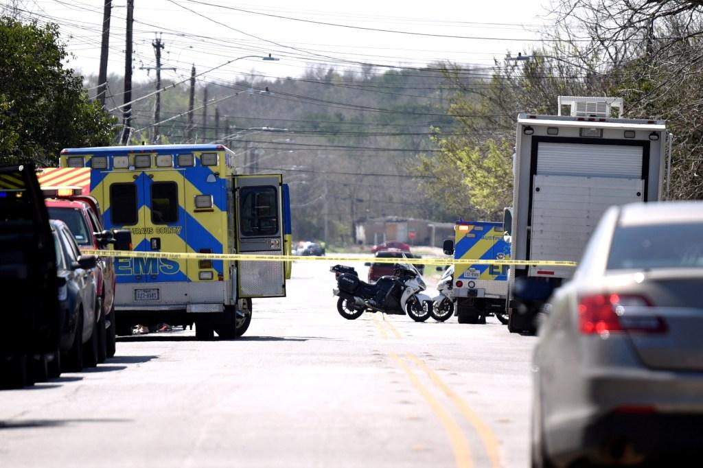 Image: Austin explosion scene