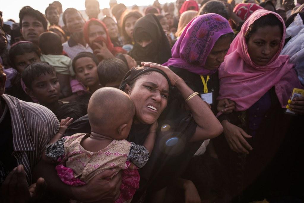 Image: Rohingya migrants