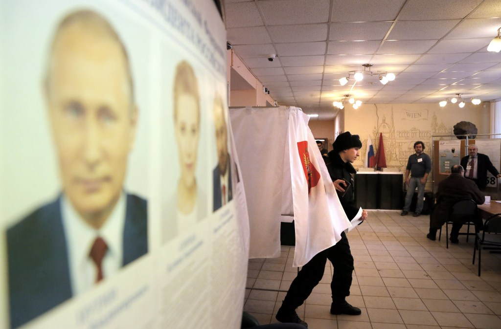 Image: Presidential election in Russia