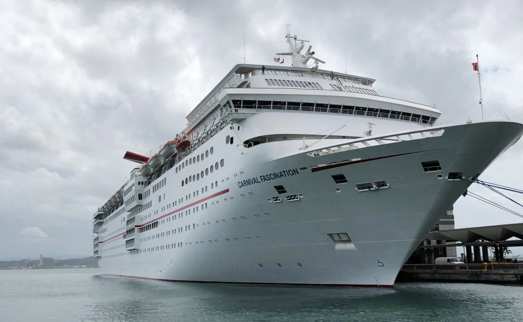 Image: The Carnival cruise ship Fascination