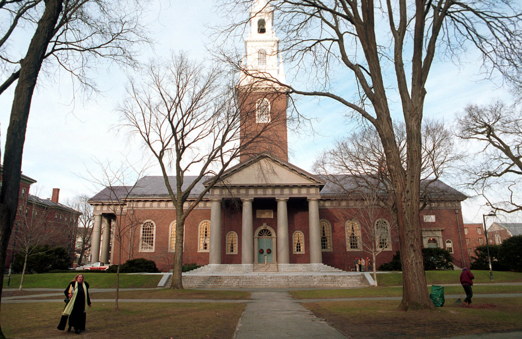 Image: Harvard University's campus