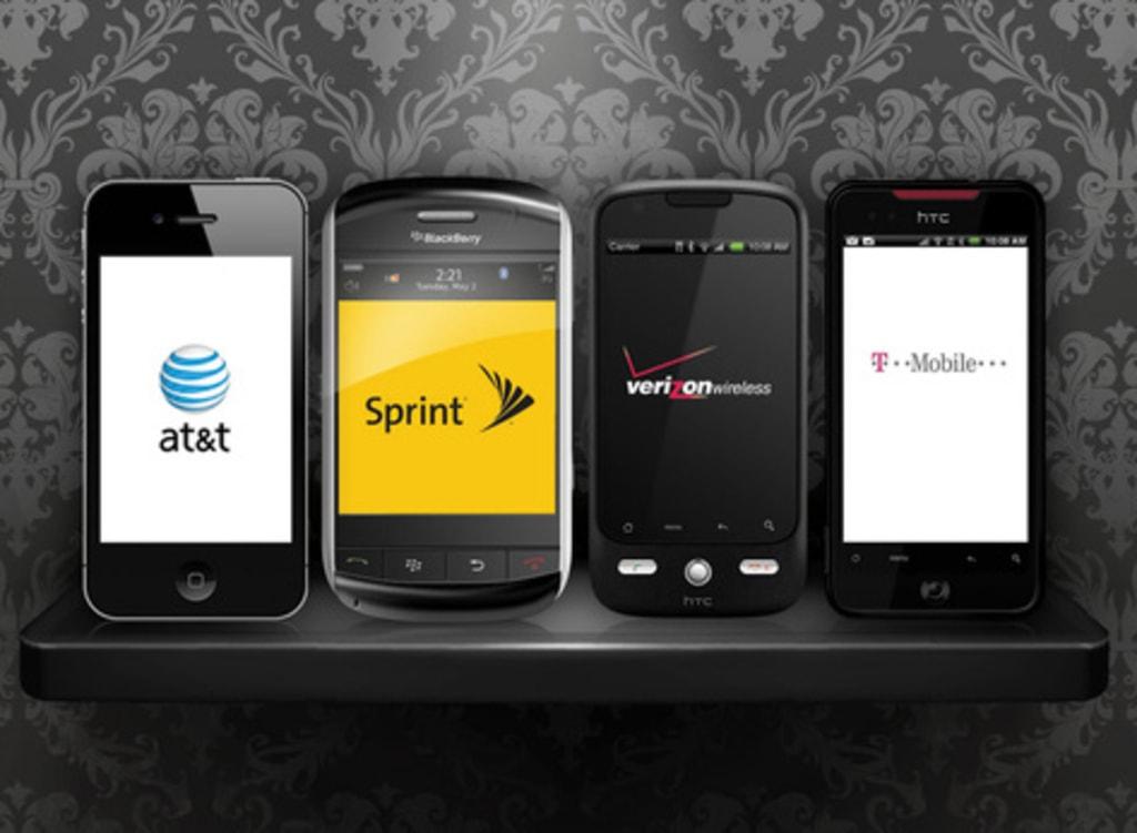 Cellphones, wireless carriers