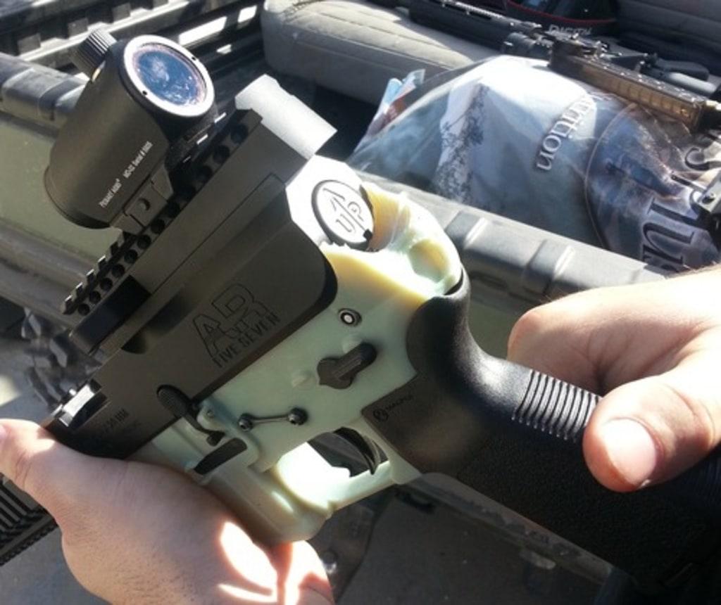Gun printed