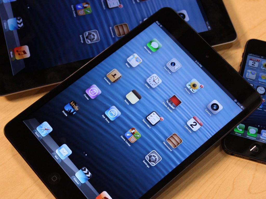 iPad Mini with iPhone and iPad