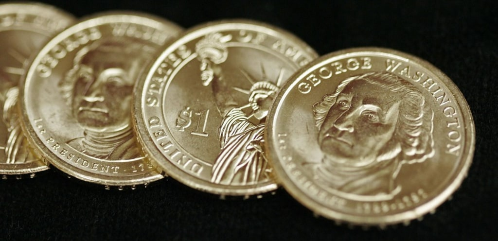 US Mint says goodbye to $1 presidential coins - NBC News