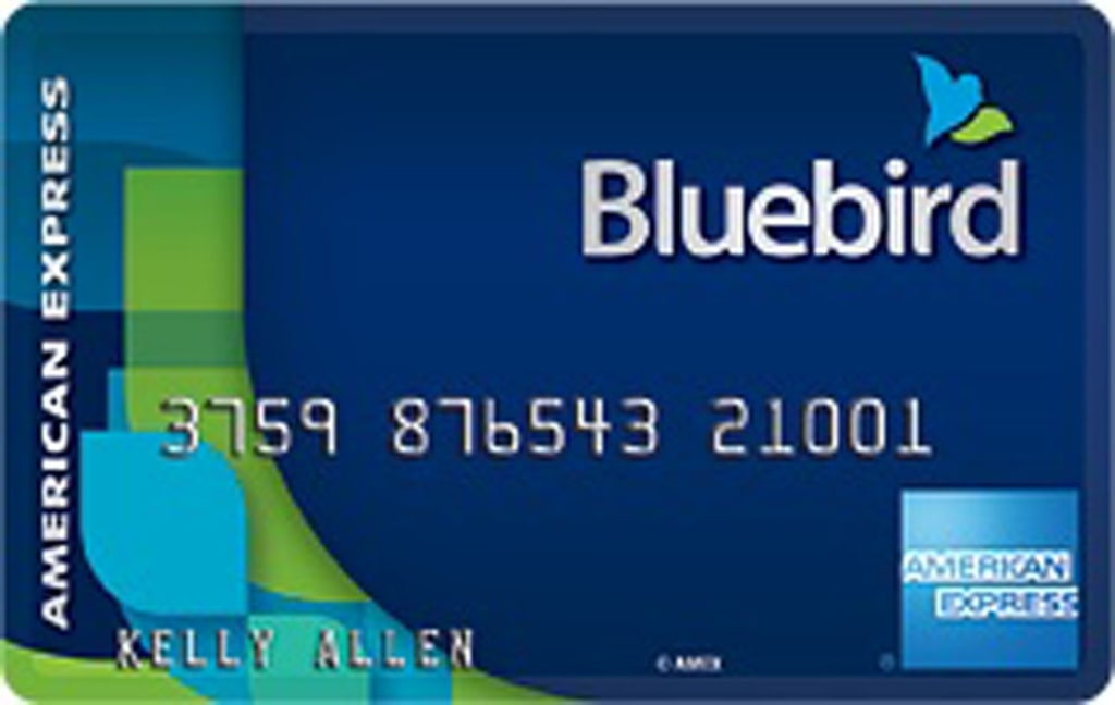 the bluebird prepaid card from american express goes on sale this week at wal mart stores ap - Can I Load A Prepaid Card With A Credit Card
