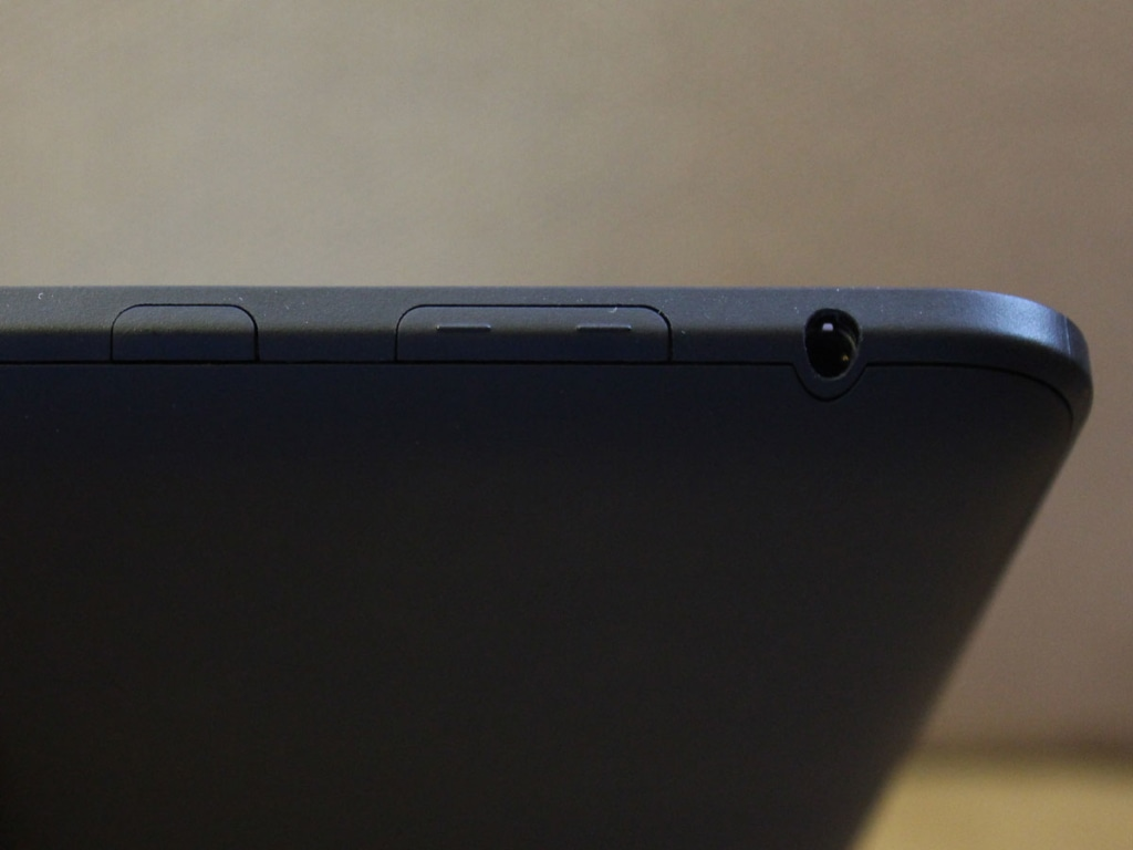 Amazon's Kindle Fire HD volume up/down button and power button