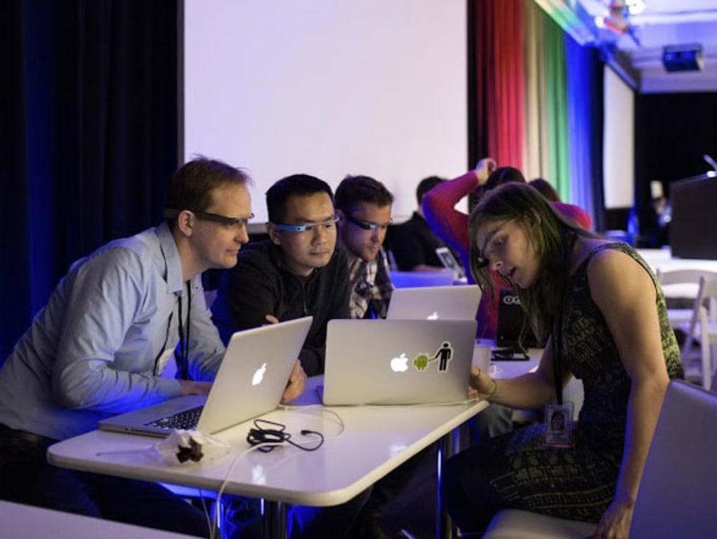 Google's Glass Foundry developer event