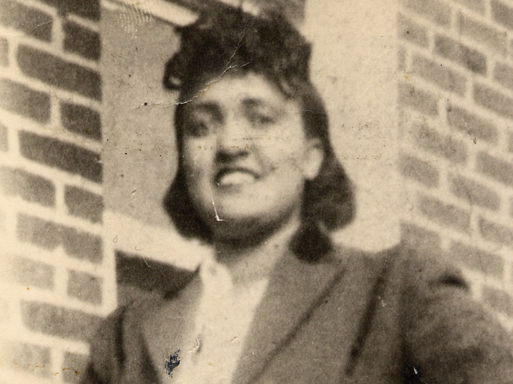 This 1940s photo made available by the family shows Henrietta Lacks. In 1951, a doctor in Baltimore removed cancerous cells from Lacks without her kno...