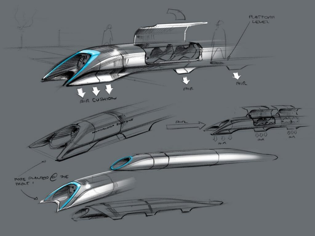Image: Hyperloop concept