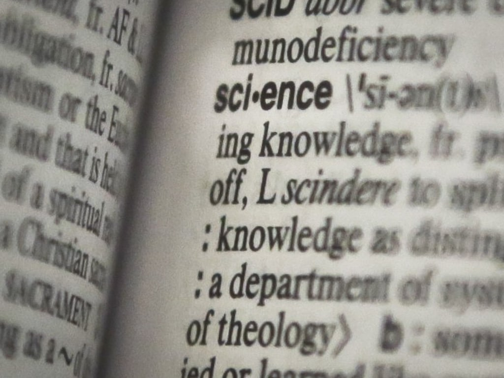 "Merriam-Webster says ""science"" is its word of the year."