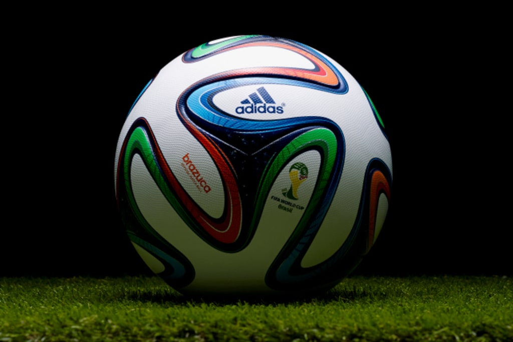 new products 636d3 25710 Adidas unveiled its ball for the 2014 World Cup, the