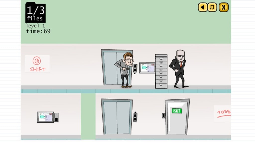 """Snowden's Leaks: The Game"" is a browser-based game that puts players in the shoes of the notorious NSA whistleblower."