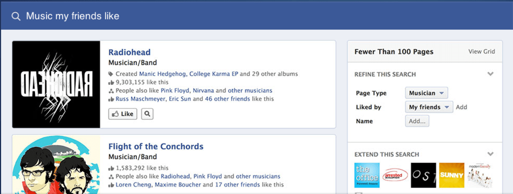 Facebook Graph Search: A bit better, a bit scarier — but mostly just