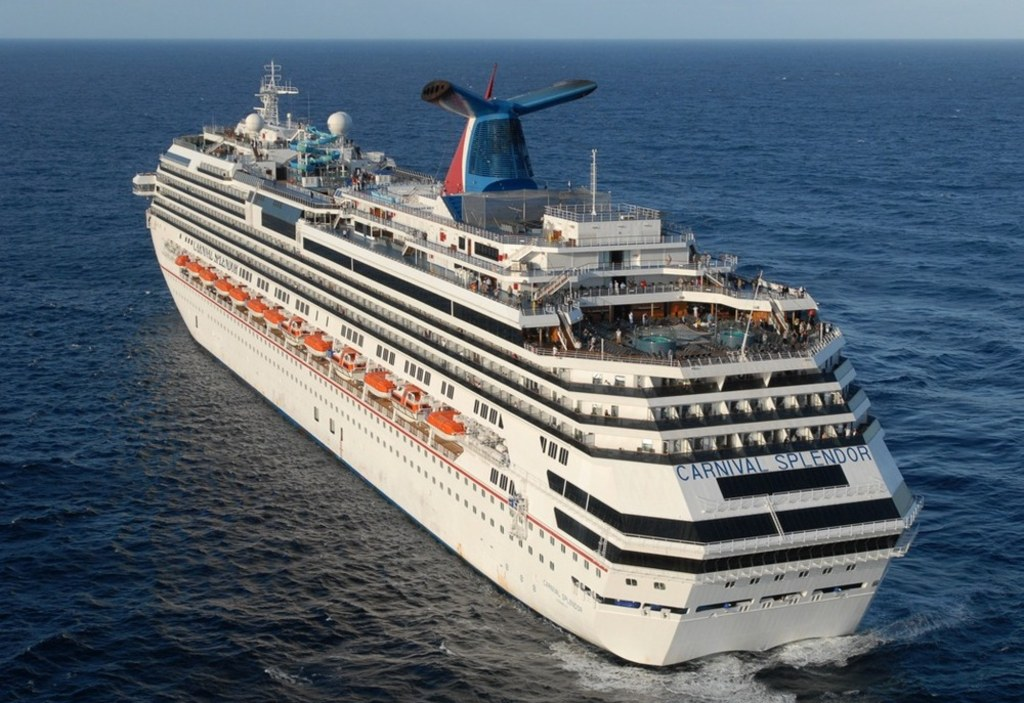Report Carnival Splendor Power Loss Likely Caused By Crew Member - Pictures of carnival splendor cruise ship