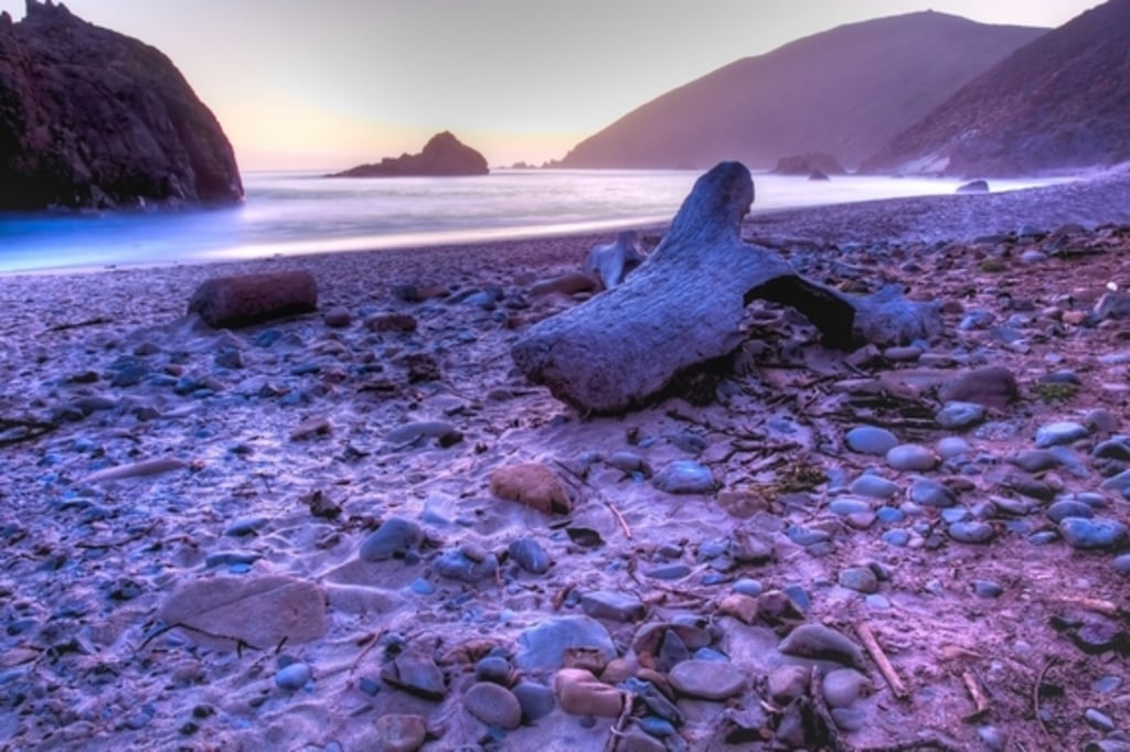 This Photo Of Beautiful Pfeiffer Beach In Sur Calif Was Taken On June 12 2010 The Sand Gets Its Plum Color From Manganese Garnet Particles