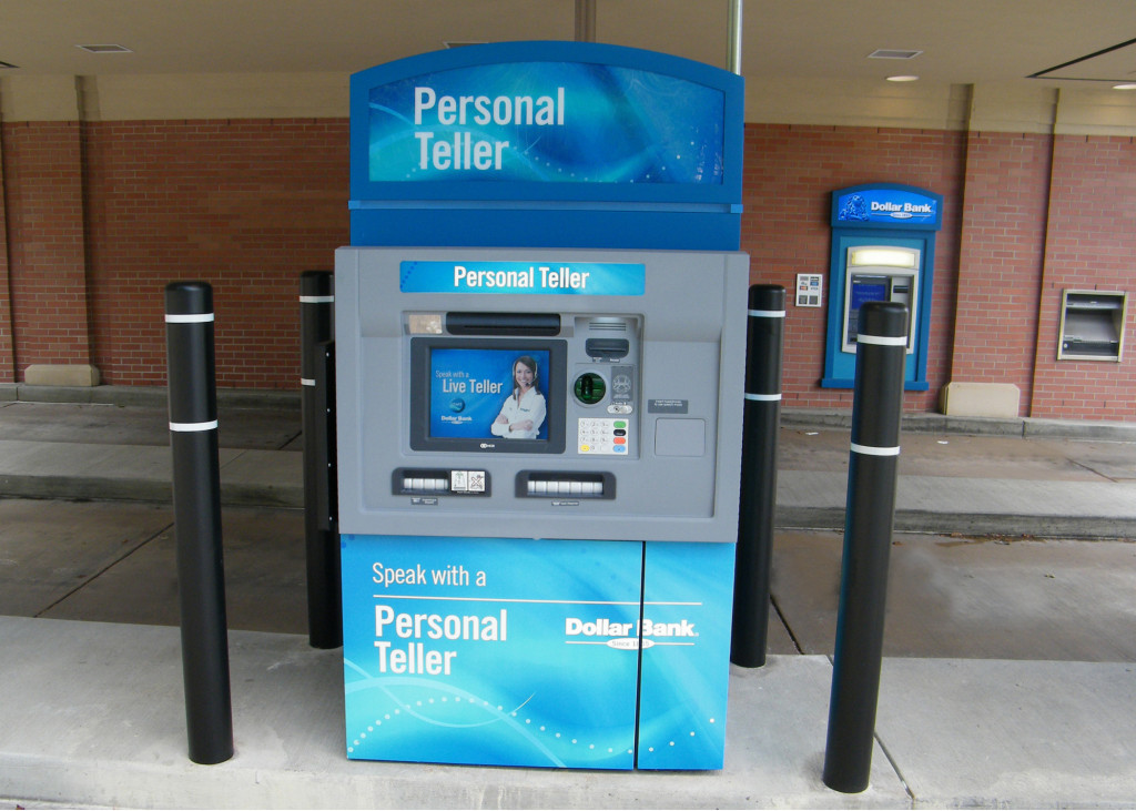Image: High-tech ATM