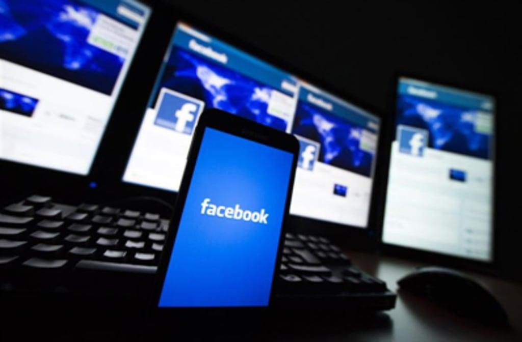 Facebook on various screens