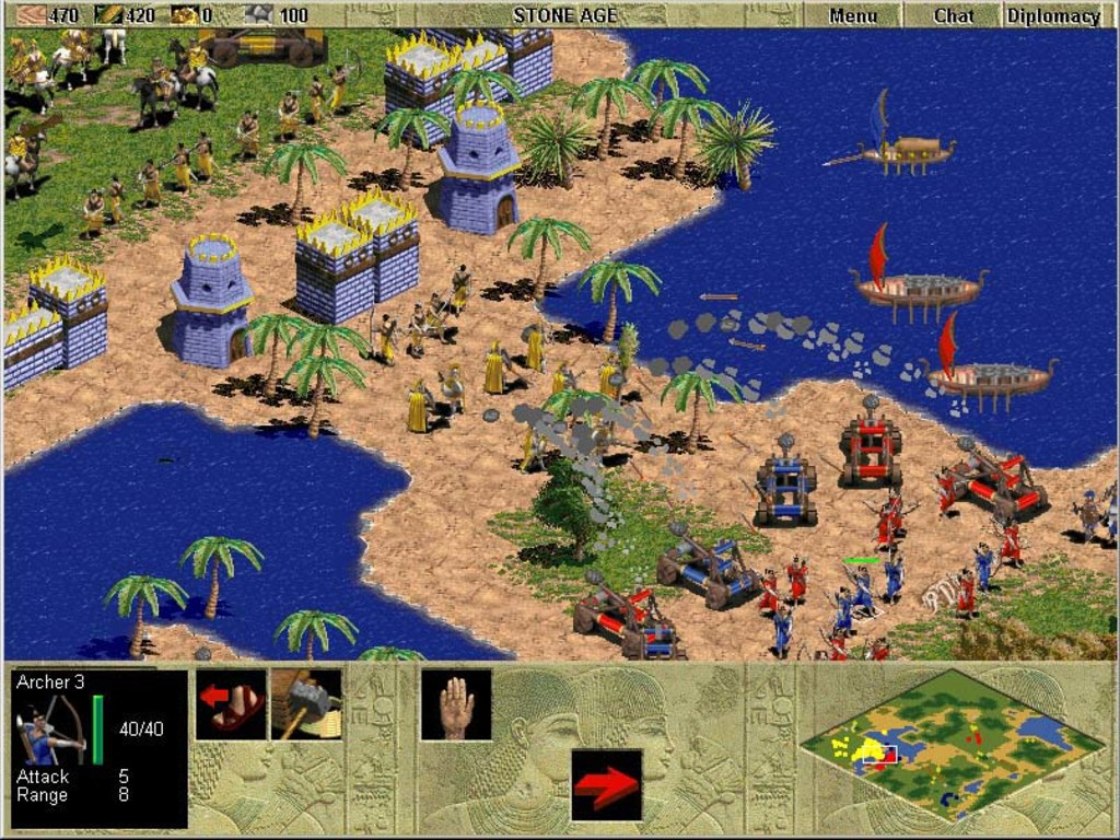 "Microsoft is developing a mobile version of its classic PC strategy game "" Age of Empires"
