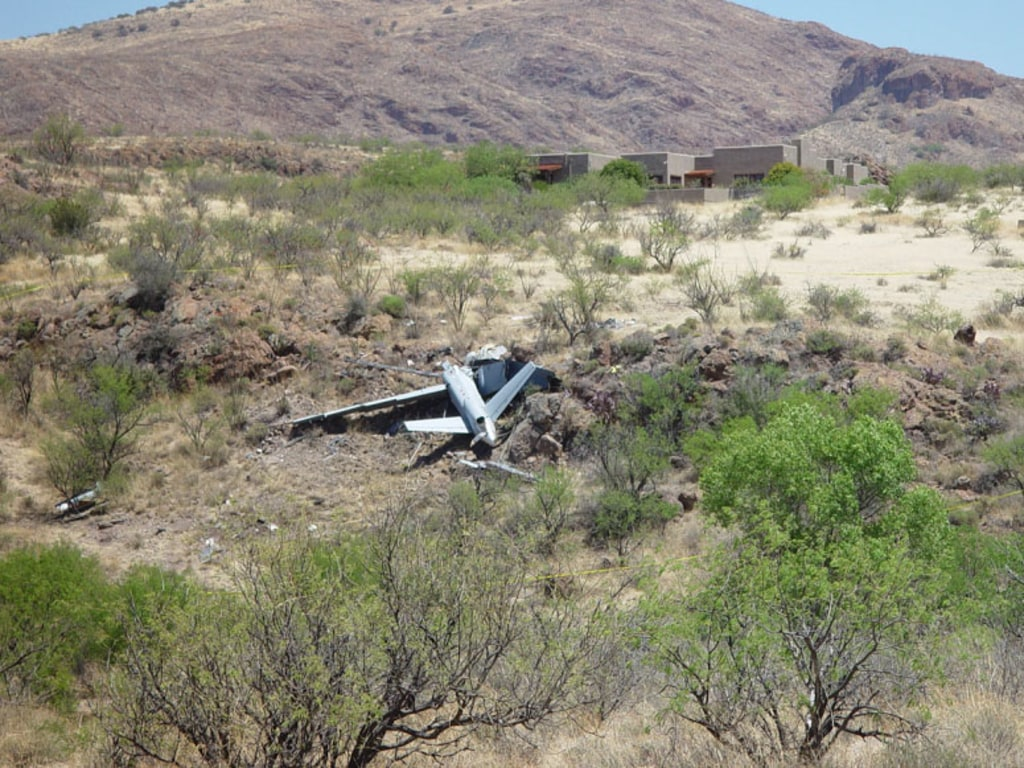 downed Predator from Nogales, Ariz. 2006