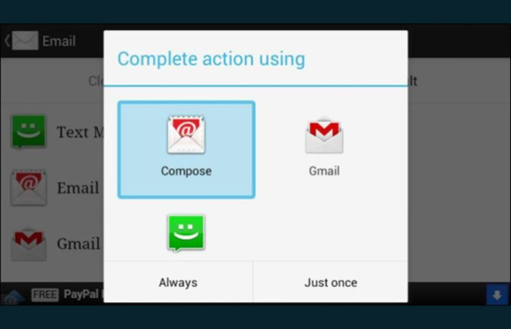 Android: your phone uses the wrong apps to open links or files.