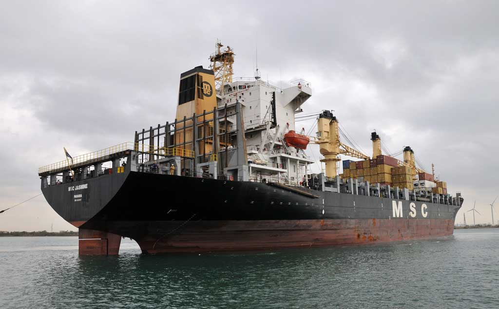 Attacked Vessel: MSC Jasmine; National Flag: Panama; Vessel Type: Container; Date: Jan. 5, 2013