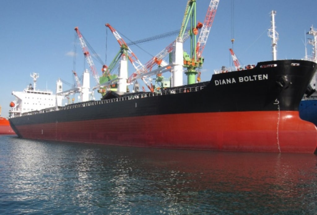Attacked Vessel: Diana Bolten; National Flag: Liberia; Vessel Type: Bulk Carrier; Date: Jan. 16, 2013