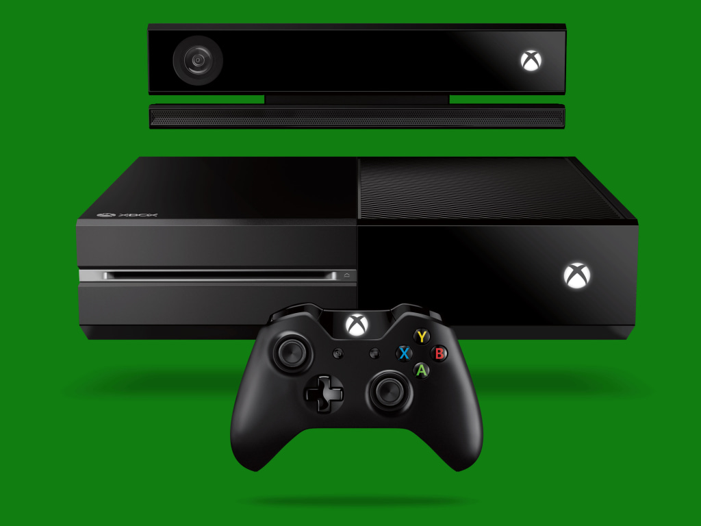 Xbox One with Kinect and new controller