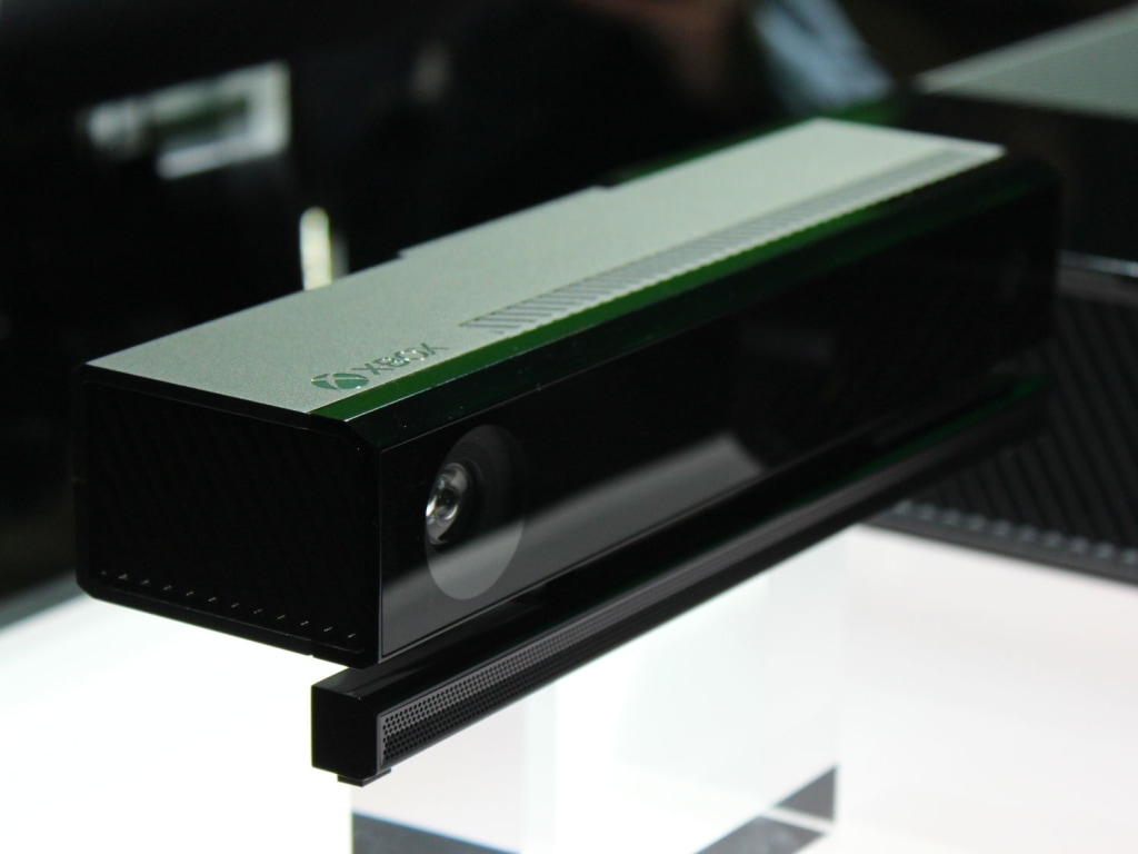 all-new Kinect sensor array