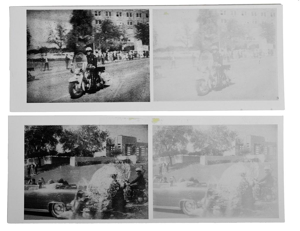 Image: Photos from JFK's assassination