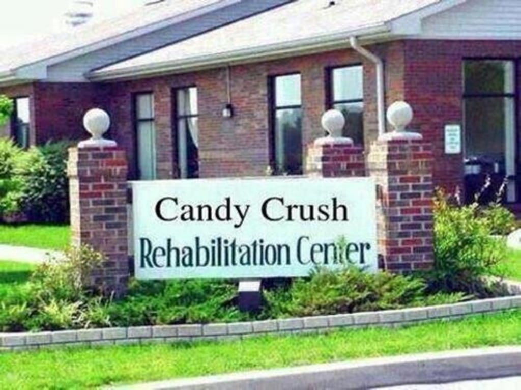 "The popularity of the addictive ""Candy Crush"" has inspired many image macros, like this one."