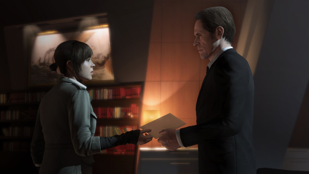 """Willem Dafoe and Ellen Page's excellent performances keep """"Beyond's"""" story afloat even in its sillier moments."""
