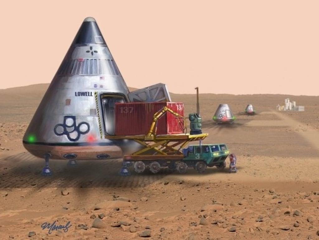 Image: Mars ferries