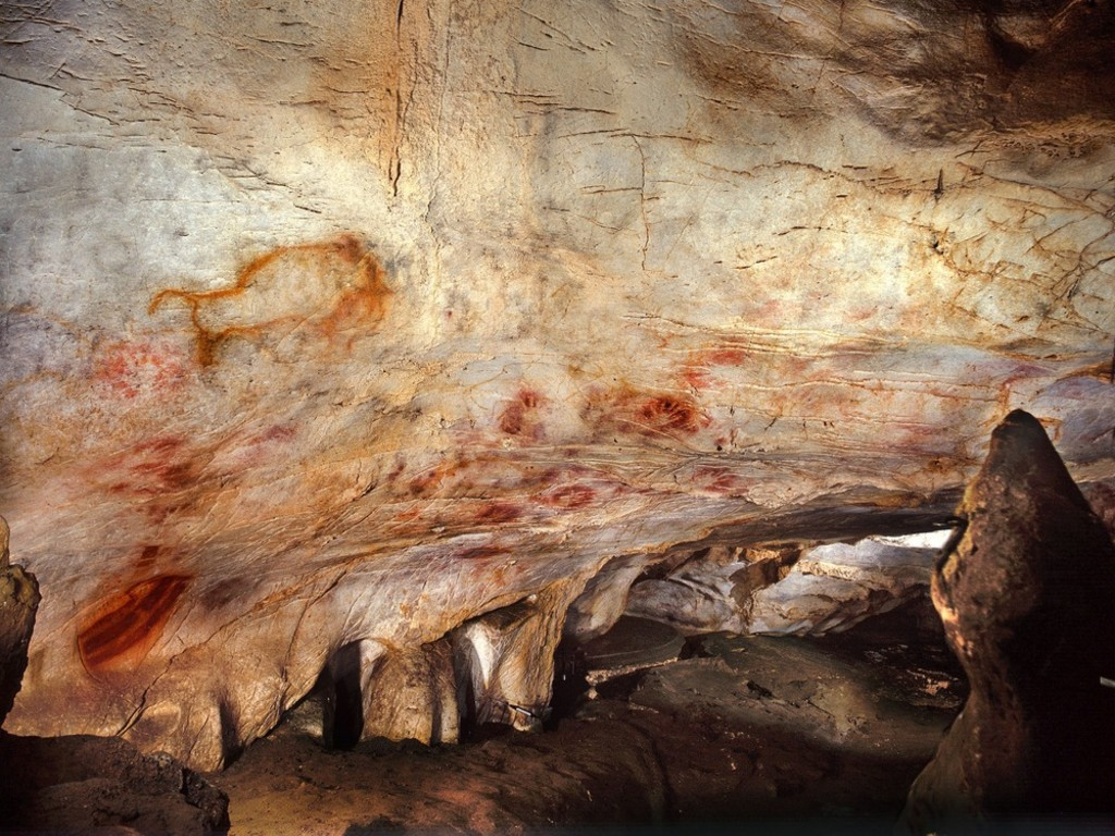 Cave paintings dating method