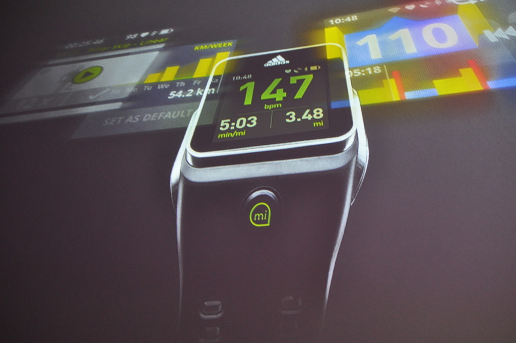 separation shoes 48115 31c0c Adidas  GPS-equipped smartwatch