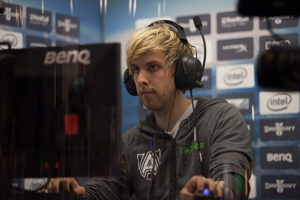 "NaNiwa, a top ""StarCraft II' player from Sweden, now wears wristbands to help protect against wrist injuries — one of the risks that comes with playing the game at a blinding speed."