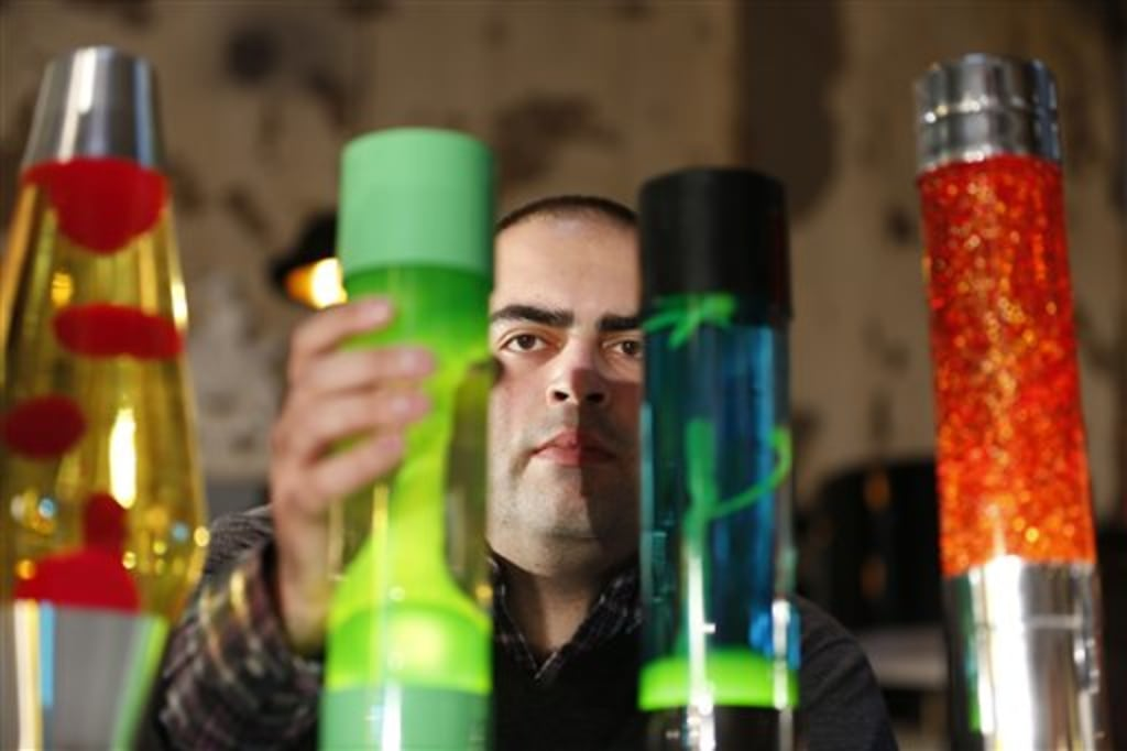 What Is In A Lava Lamp Cool Lava Lamps 60 Years Old And Still Groovy NBC News