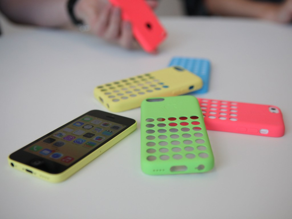 Colorful cases for iPhone 5C