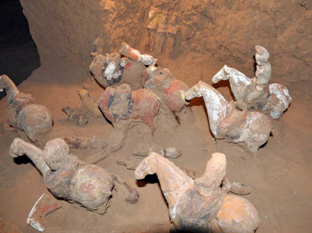 ancient chinese tomb adds to tale of scandalous female prime