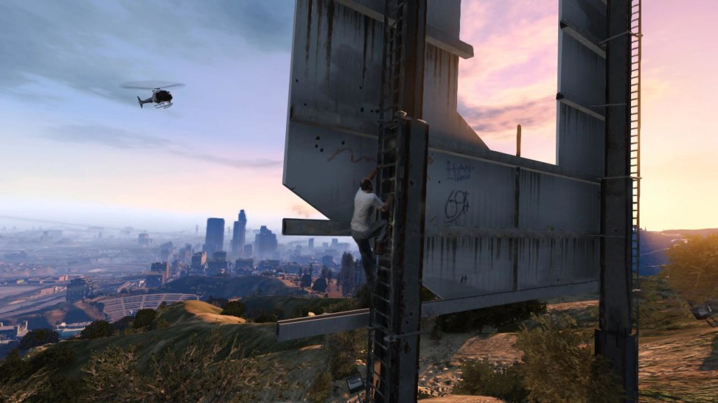 """Critics have praised the visual upgrade from 2008's """"Grand Theft Auto IV."""""""
