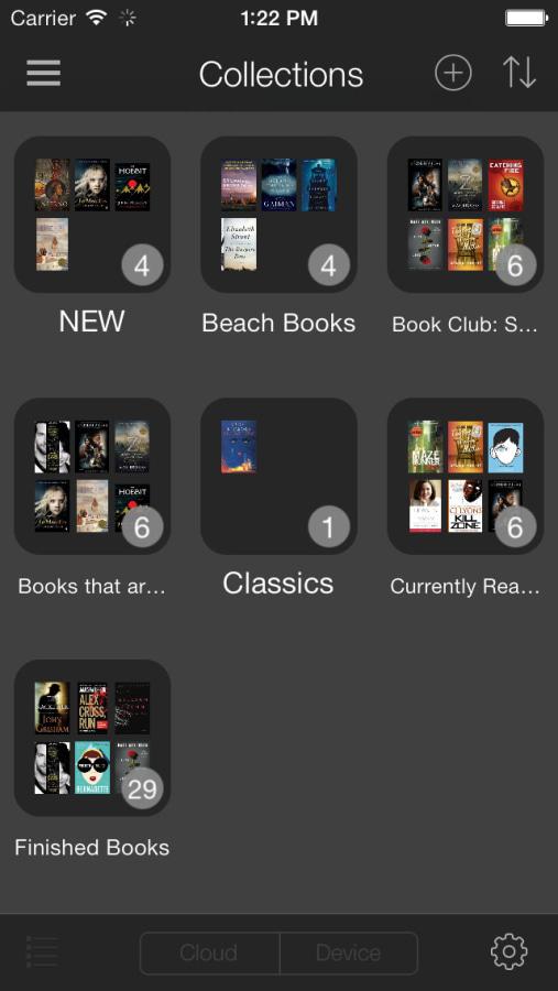 Amazon Kindle for IOS 7