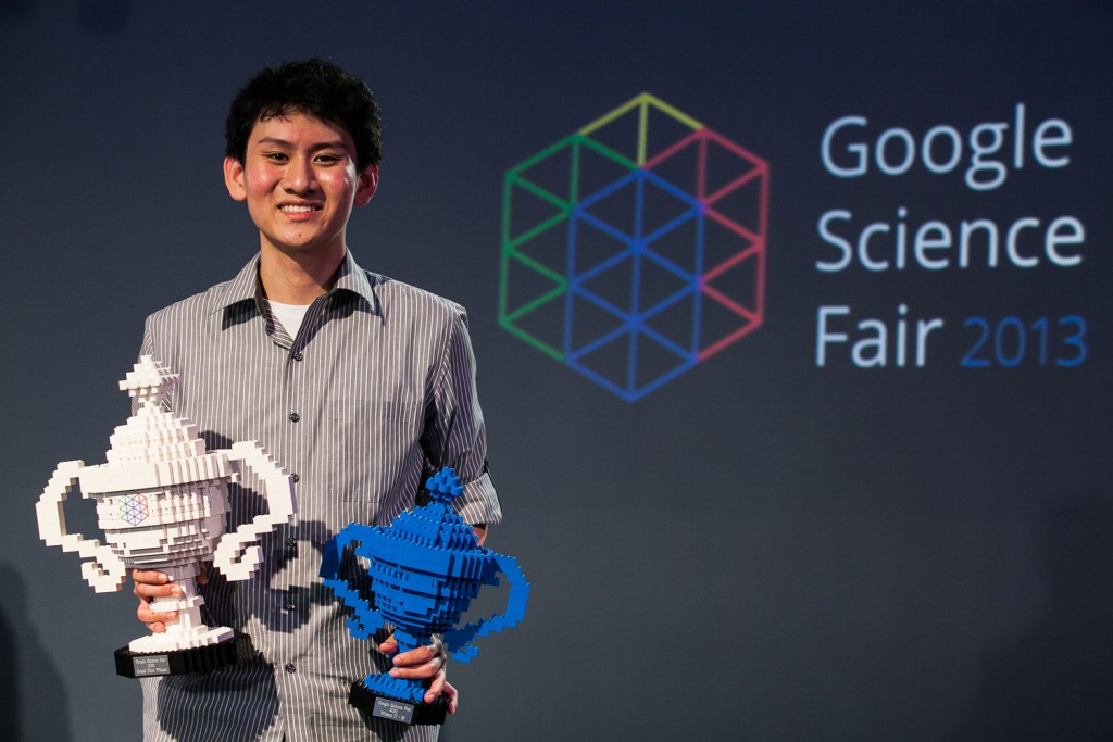 Image of prize winner Eric Chen