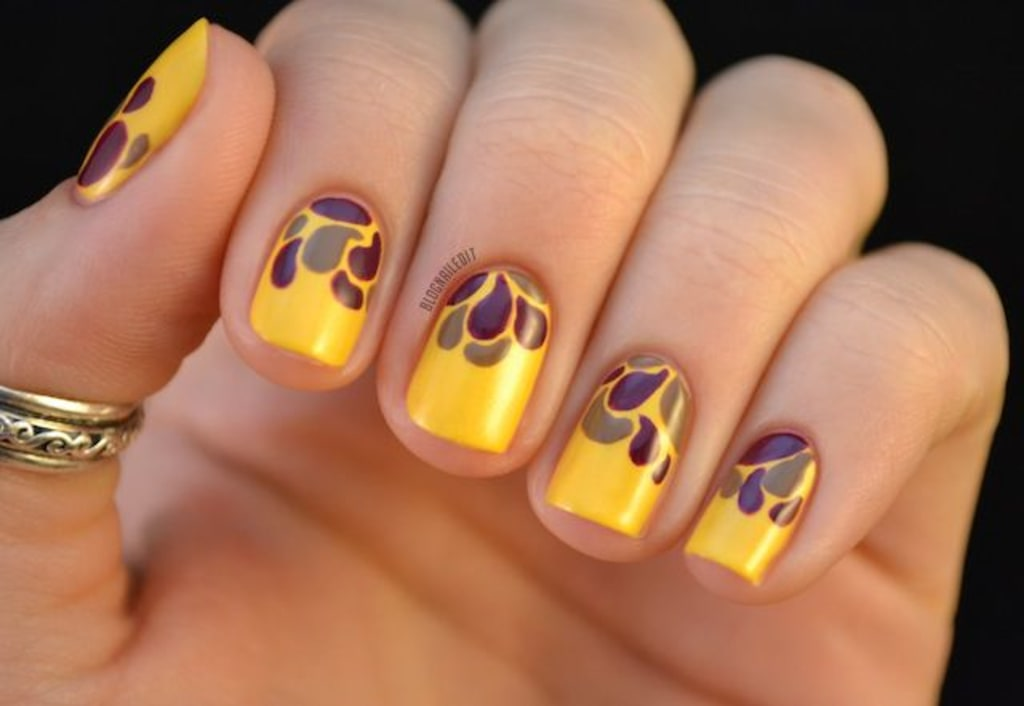 Dress up your hands for thanksgiving with 13 fun fall nail art image thanksgiving nail art prinsesfo Image collections