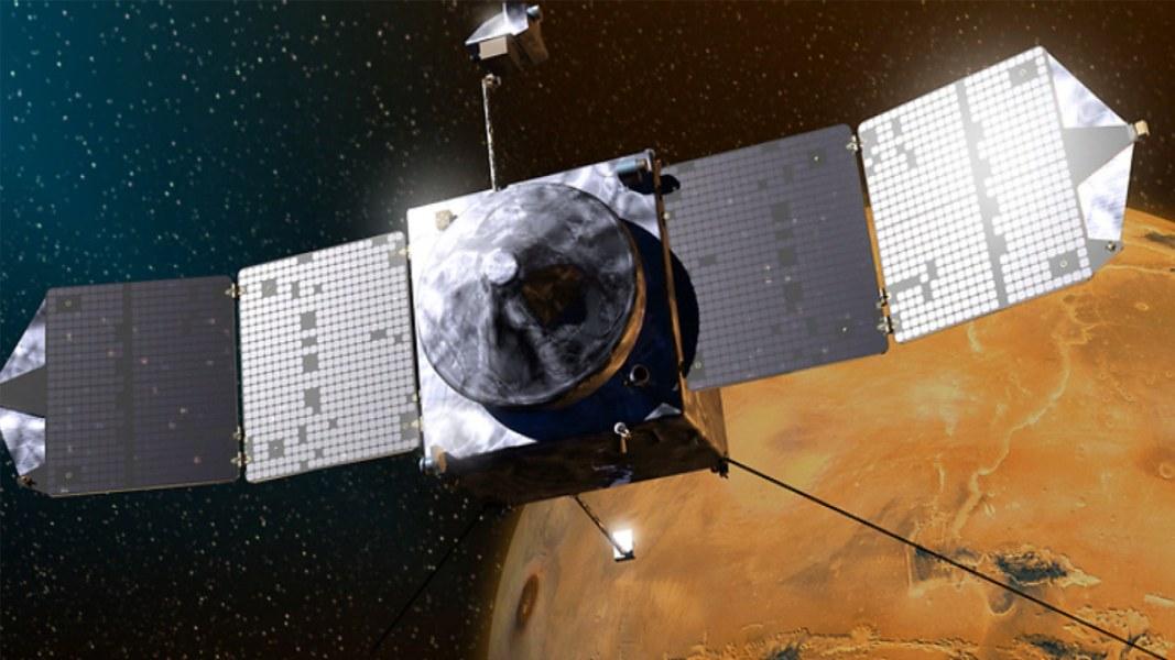 Success! NASA's Maven Probe Goes Into Orbit Around Mars ...