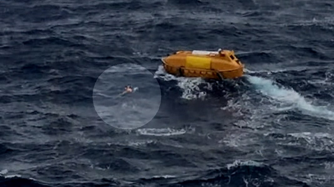 One Cruise Ship Rescues Man Who Fell Off Another NBC News - Cruise ship rescue
