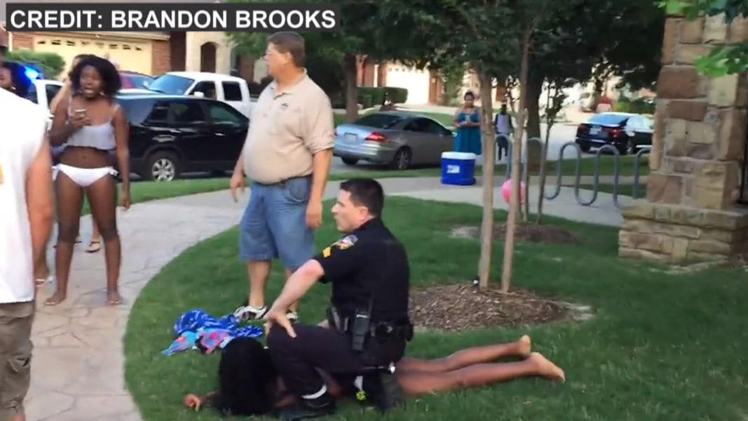 Black patrol white cops track down and fuck a black deadbeat dad - 5 6